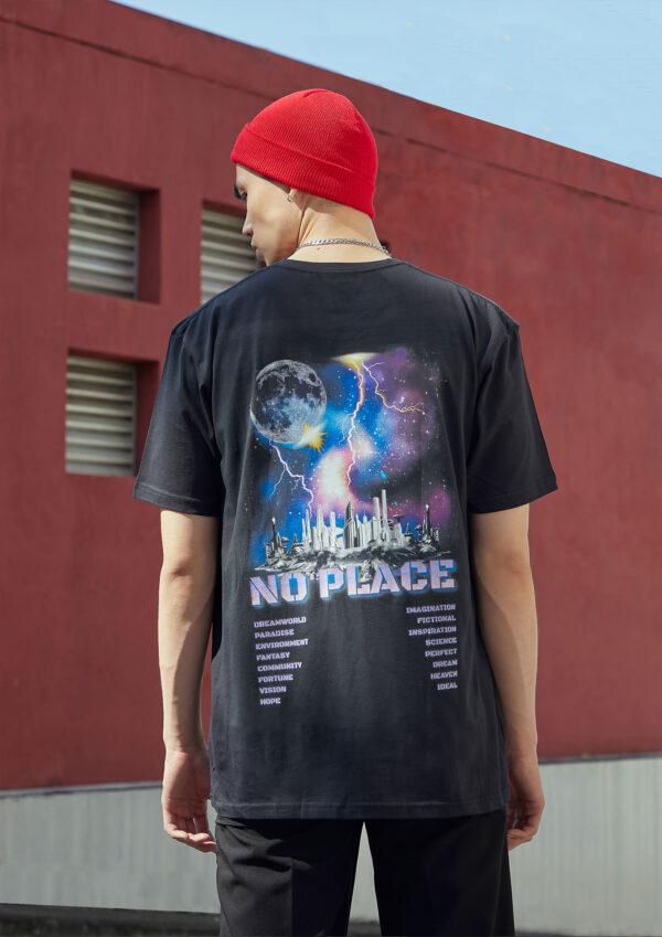 SNAZZY Night city T-shirt 1