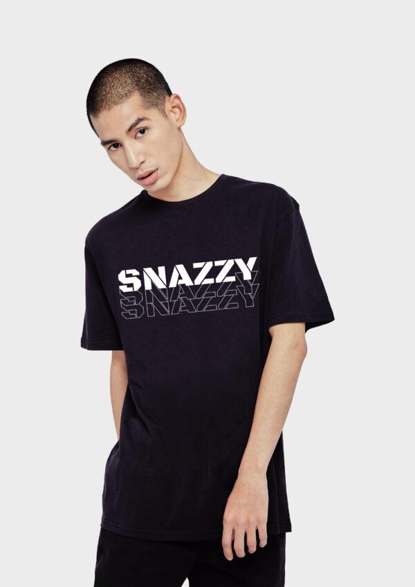 SNAZZY Black Vertical ZZ 1